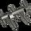 Thumbnail: 5 Rod Rocket Launcher (Anodized)