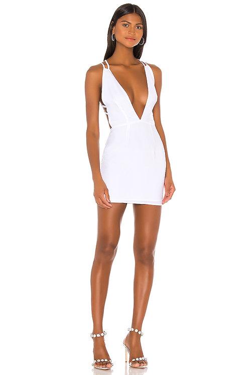 Classy White Dress
