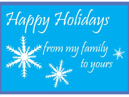 "Natasha's Nook: ""Lets share holiday traditions"""