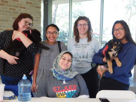 Student donations benefit Tails of Valor