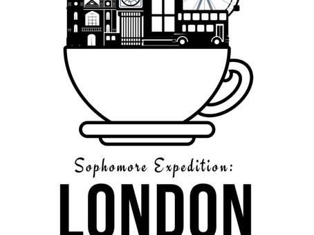 Sophmores preparing for London Trip