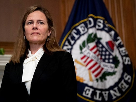 Barrett goes from Teaching Justice to Associate Justice