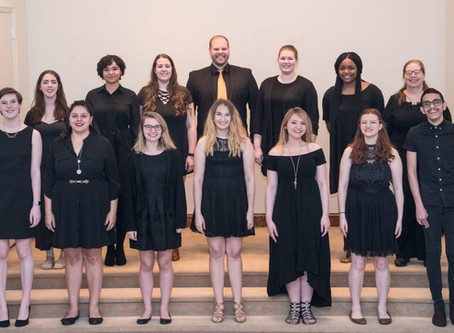 How VOICE, the choral ensemble, will be performing this Fall