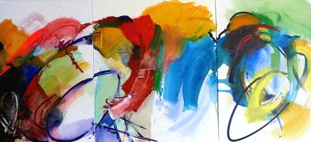 7. Résonance - 3X_61x50cm - 2012