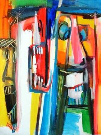2. Dissonance - 92x73 cm - 2014