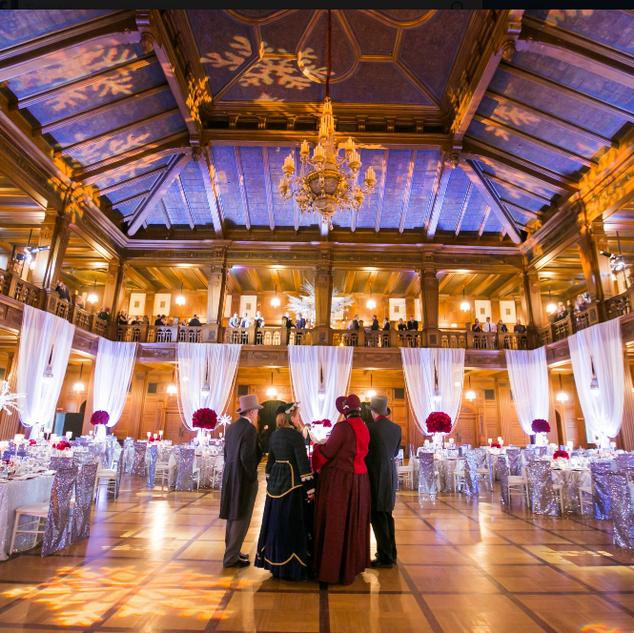 Scottish Rite Winter theme wedding