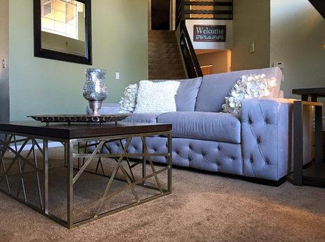 tufted trim sofa