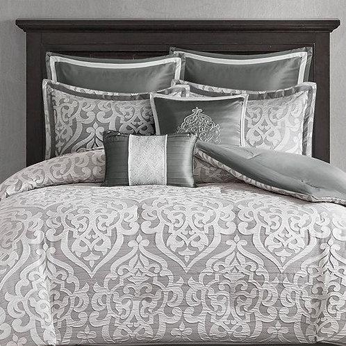 8 Piece Jacquard Comforter Set - #007
