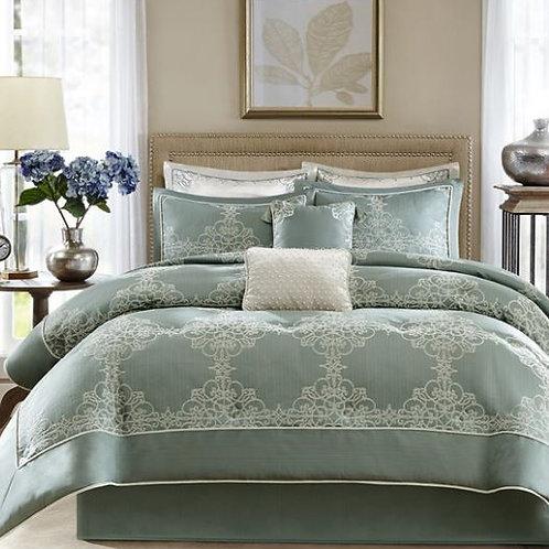 8 Piece Textured Comforter Set - #005