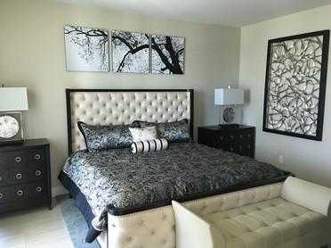luxury tower master bedroom