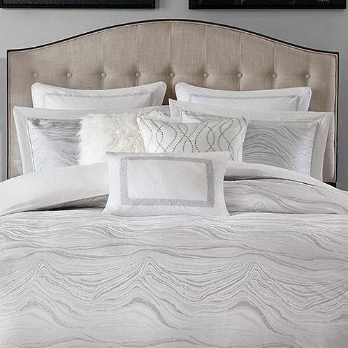 9 Piece Jacquard Comforter Set - #006
