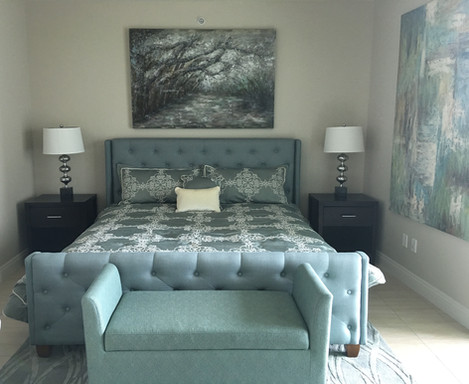 luxury tower guest room