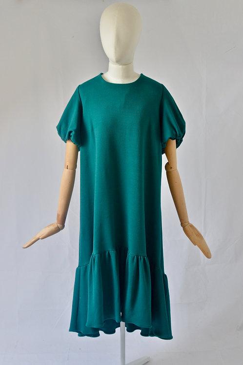 Green Jesery Dress