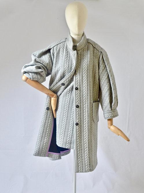 Grey knit cardi