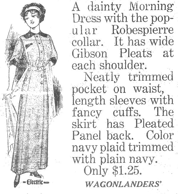 1912 Wagonlanders dress