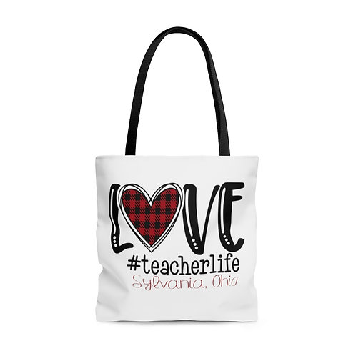 Love The Sylvania Teacher Life Tote Bag