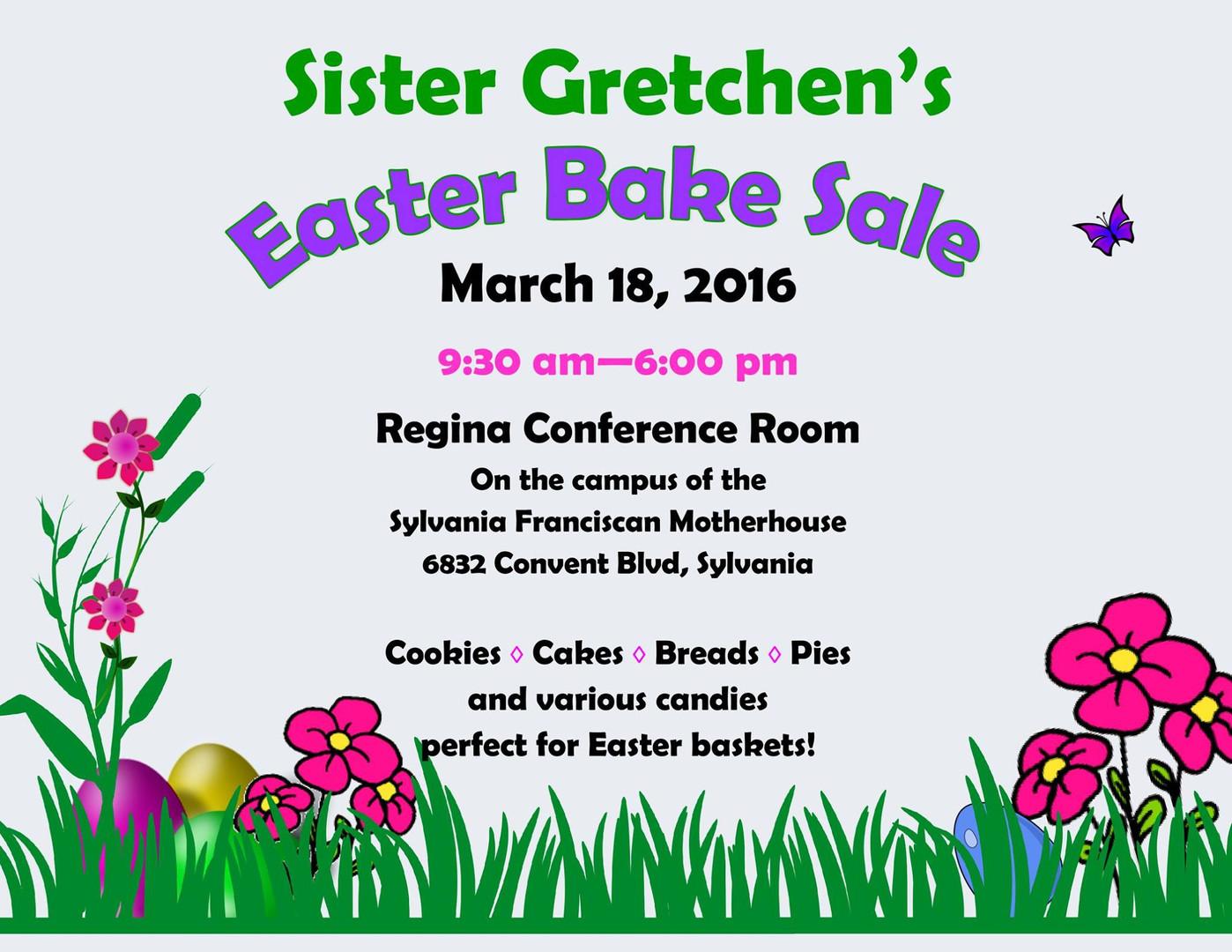 Sister Gretchen easter
