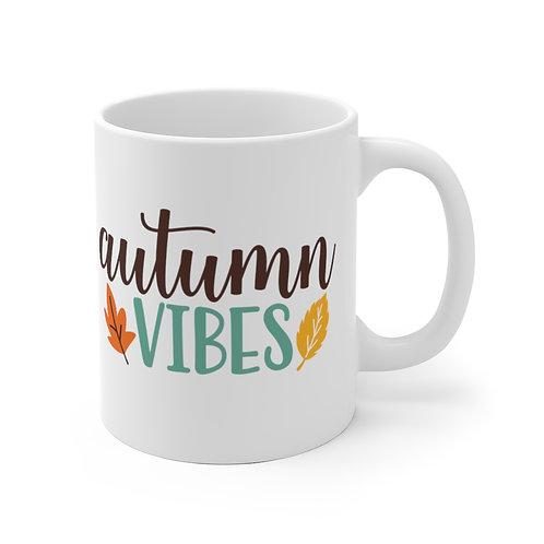 Sylvania Autumn Vibes White Mug