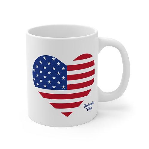 Sylvania Stars & Stripes Mug