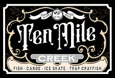 ten mile creek black and gold ad