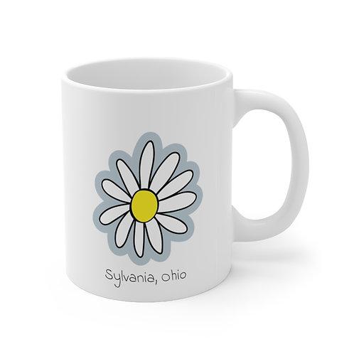 Sylvania Daisy  Ceramic Mug