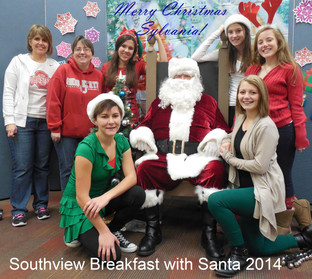 Santa at Southview