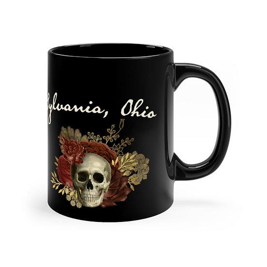Haunted Sylvania Ravenwood Black Mug