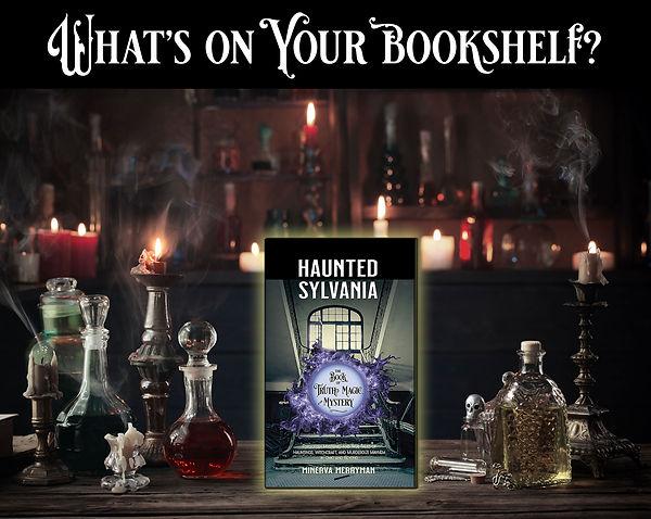 Whats on your bookshelf haunted 2021
