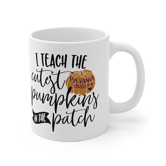 I Teach the Cutest Pumpkins Mug