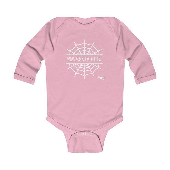 Sylvania Spider Web Infant Long Sleeve Bodysuit