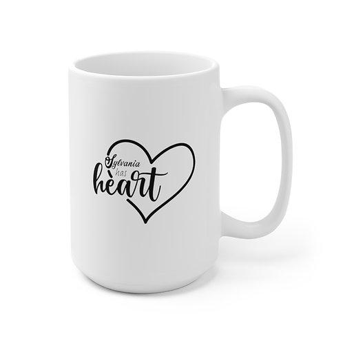 Sylvania Has Heart Ceramic Mug 15oz