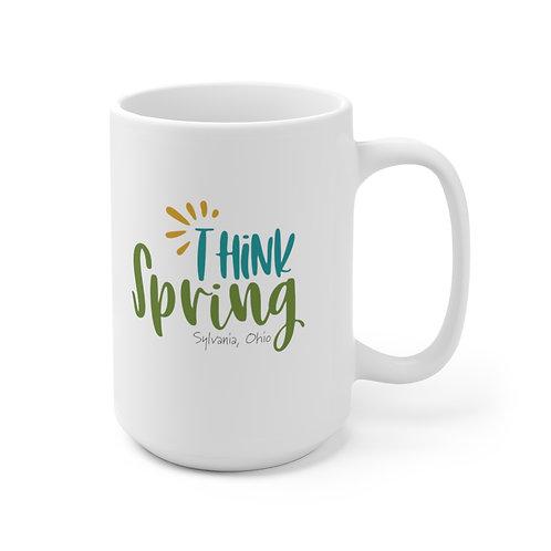 Think Spring in Sylvania Ceramic Mug 15oz