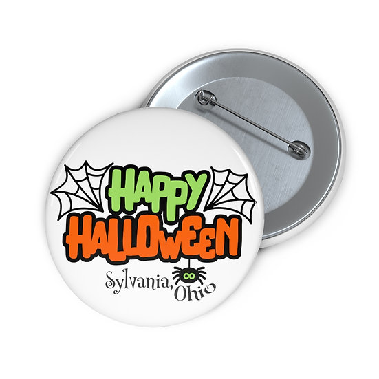 Happy Halloween in Sylvania Pin Buttons