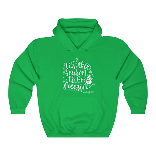 Freezin in Sylvania Unisex Hooded Sweatshirt