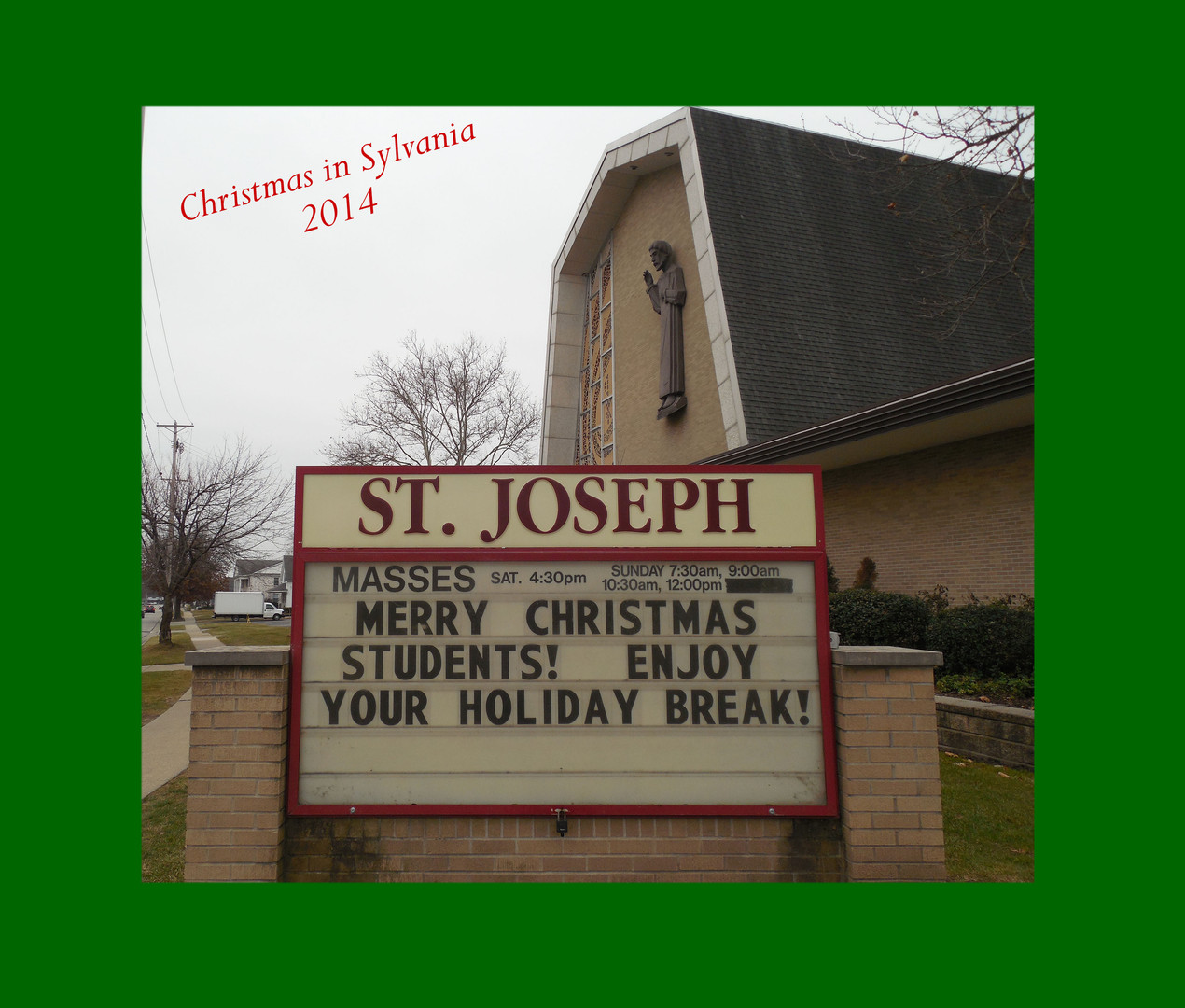 Christmas at St. Joe's