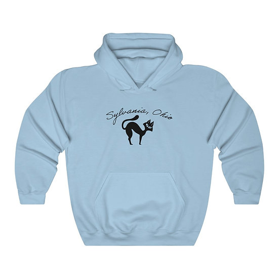 The Sylvania Cool Cat Unisex Hooded Sweatshirt