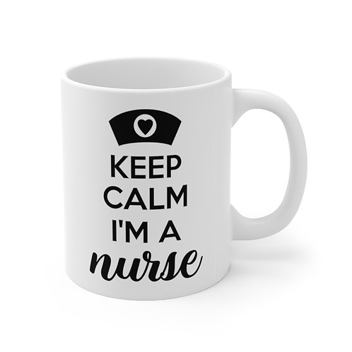 Keep Calm Sylvania Nurse Mug