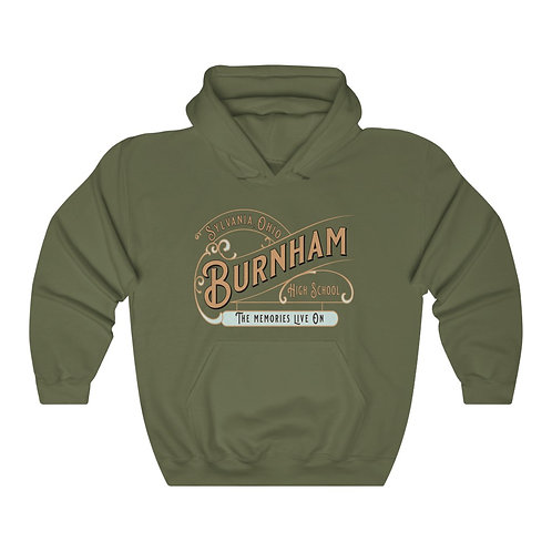 Burnham Memories Live On Unisex Hooded Sweatshirt