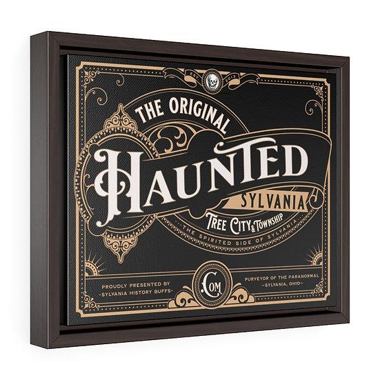 The Original Haunted Sylvania Framed Premium Canvas