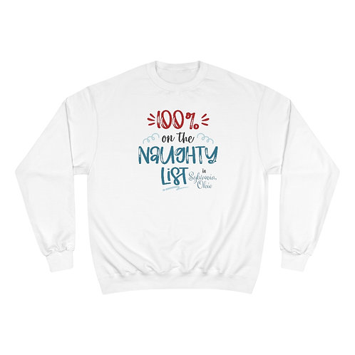 Sylvania Naughty List Champion Sweatshirt
