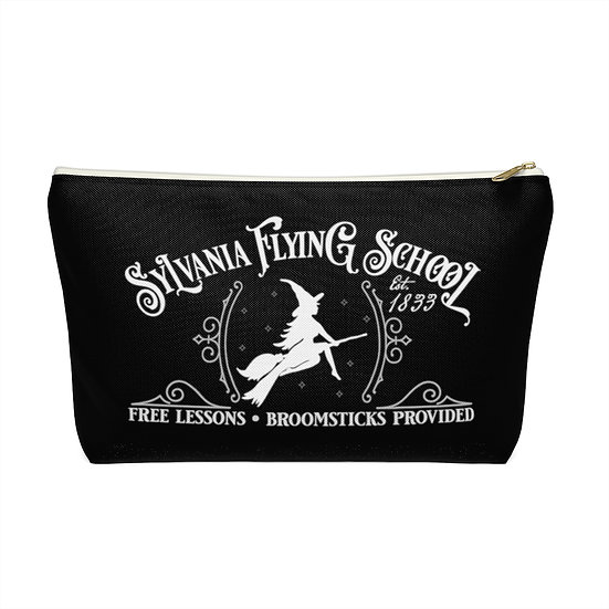 Sylvania Flying School Accessory Pouch w T-bottom