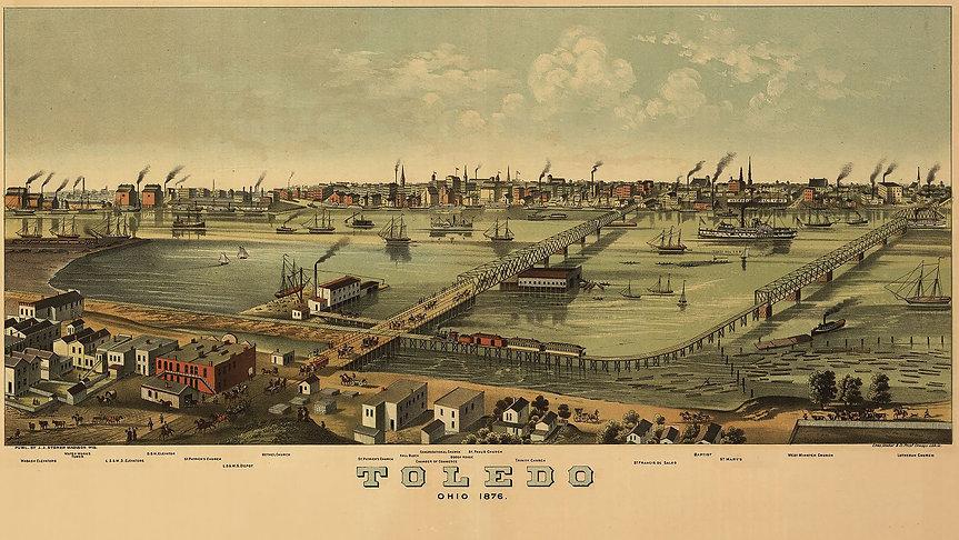 toledo map 1876