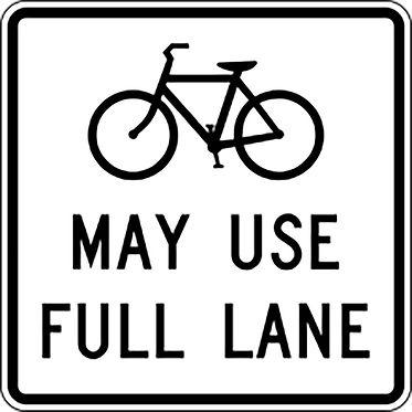 bike signs 2021 Township