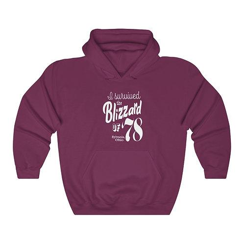 Blizzard of '78 Unisex Hooded Sweatshirt