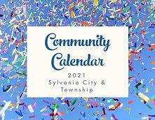 community calendar 2021