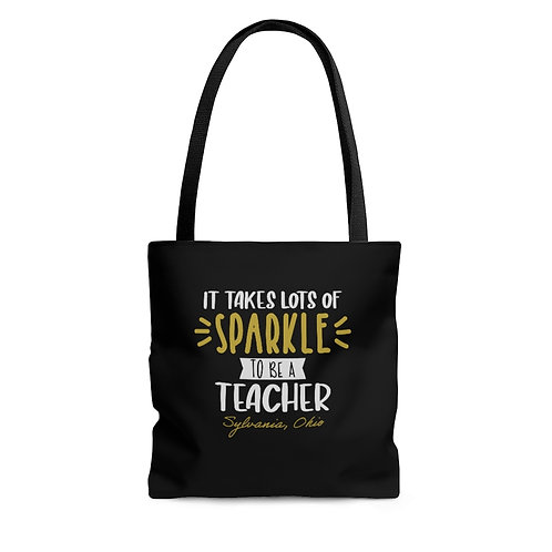 Sylvania Teachers Sparkle Tote Bag