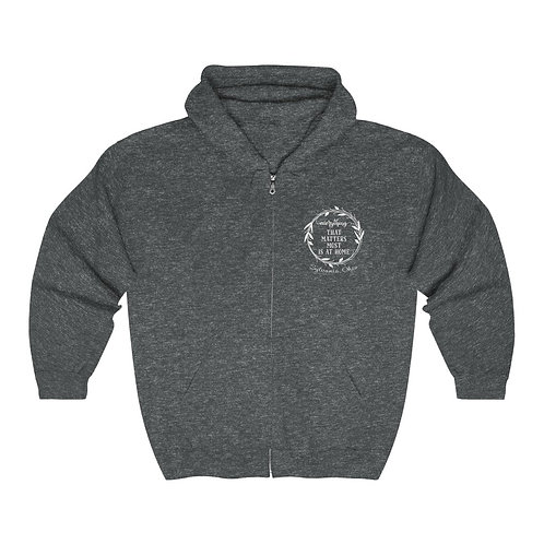 Everything That Matters Sylvania Unisex Heavy Blend™ Zip Hooded Sweatshirt