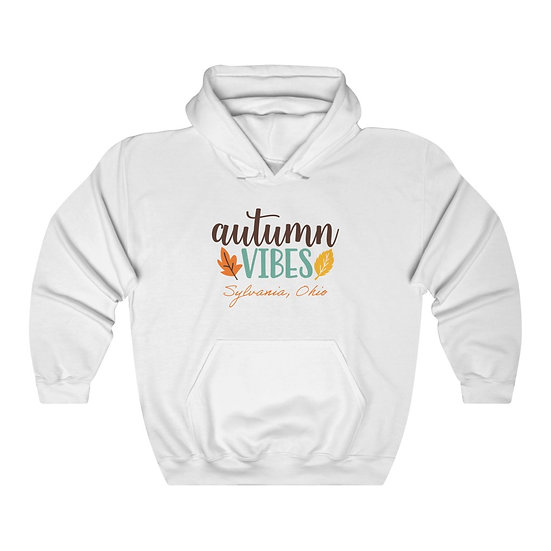 Autumn Vibes Unisex Hooded Sweatshirt