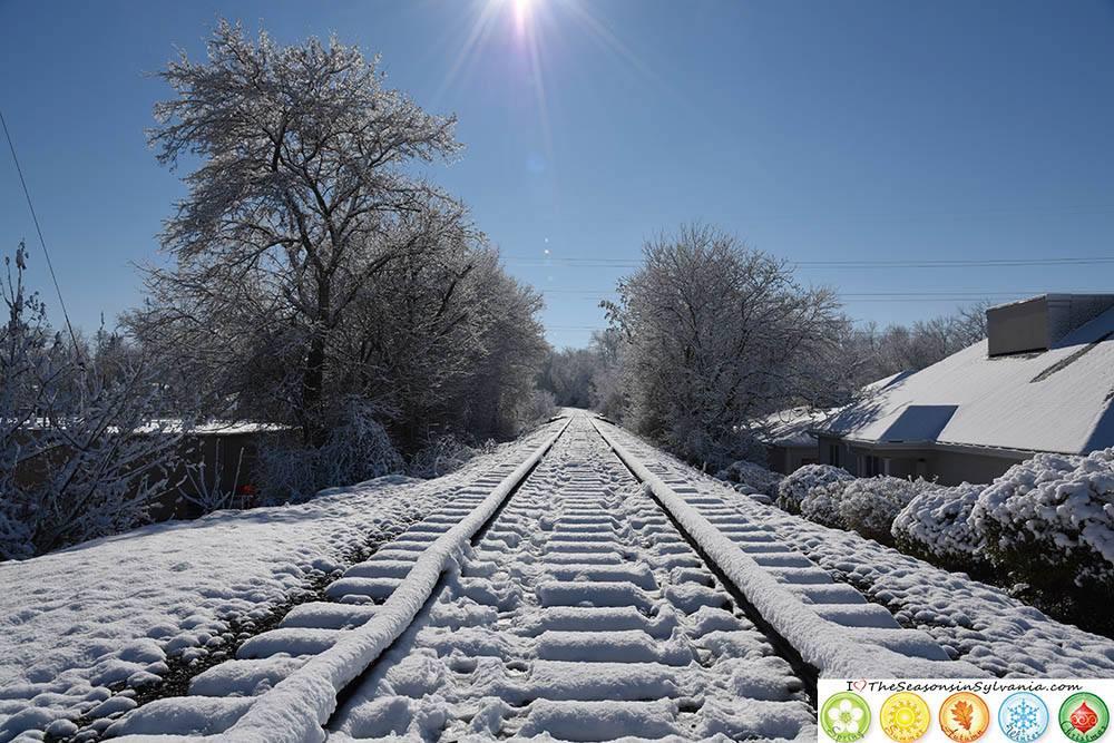 Downtown Railroad Tracks