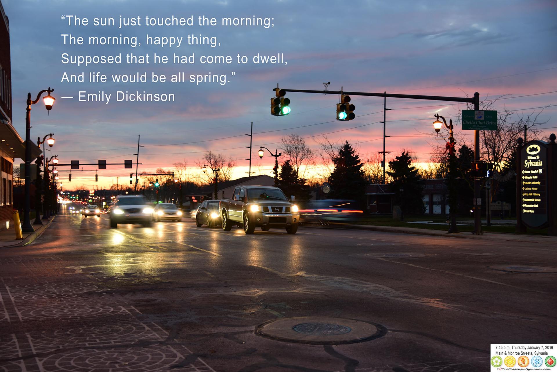 Dawn in Sylvania